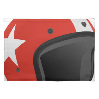 Red Helmet Placemat