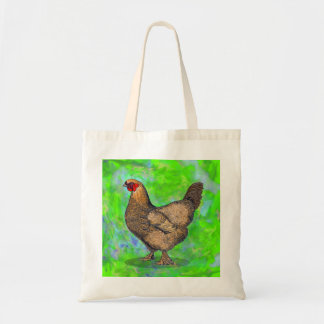 Red Hen Chicken Tote Bag