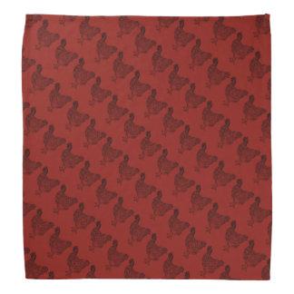 Red Hen Pattern Bandana