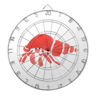 Red Hermit Crab Dartboards