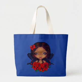 Red Hibiscus Fairy tiki Bag