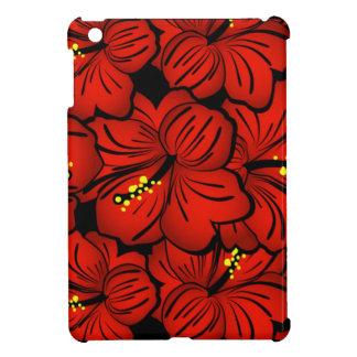 Red Hibiscus Flower Mini iPad Case iPad Mini Cases