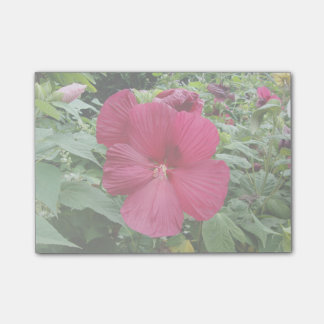 Red Hibiscus Post-it Notes