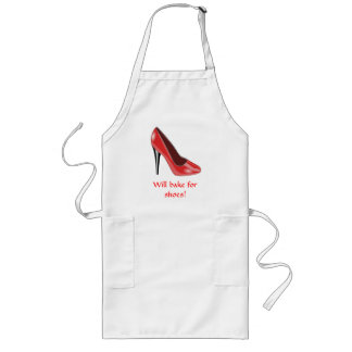 Red High Heel Shoe Apron