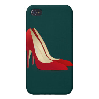 red high heel shoes iPhone 4 cover