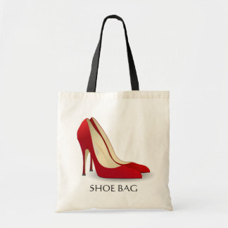 Red High Heels Shoe Bag Stylish