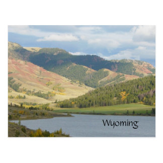 Red Hills of Wyoming Postcard