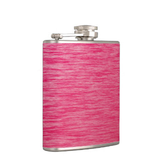 Red Hip Flask