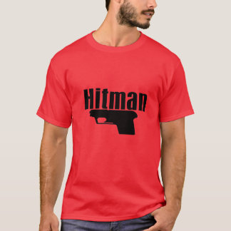 red hitman t-shirt