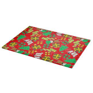 Red - Ho Ho Santa Cutting Board