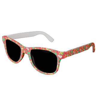 Red - Ho Ho Santa Sunglasses