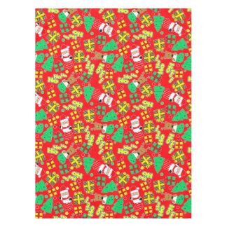 Red - Ho Ho Santa Tablecloth