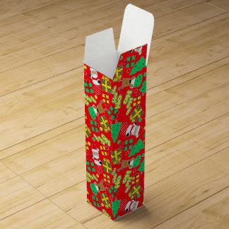 Red - Ho Ho Santa Wine Box
