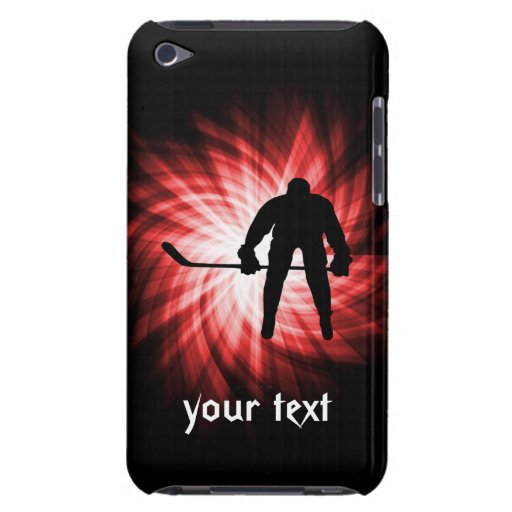 Red Hockey iPod Case-Mate Case