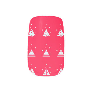 Red Holiday Nail Art