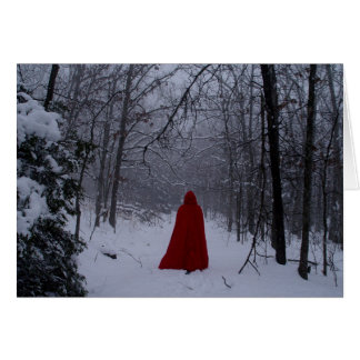 Red hood card
