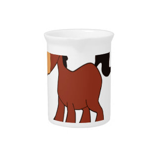 red horse pony pitcher