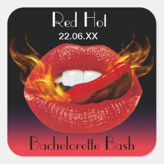 Red Hot Bachelorette Bash Seal