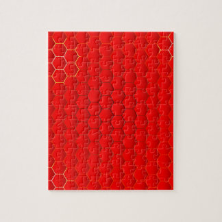 Red Hot Background Puzzle