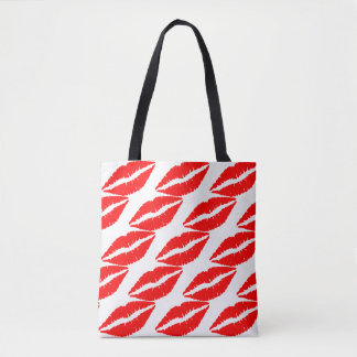 Red Hot Bliss Lips Tote