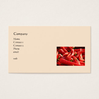 Red Hot Chili Peppers Business Card