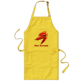 Red Hot Chili Peppers Long Apron