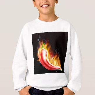 Red Hot Chilli Pepper on Fire Sweatshirt