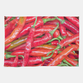 Red hot chilli peppers kitchen towel