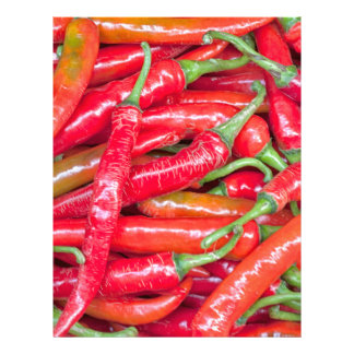 Red hot chilli peppers letterhead