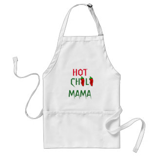 Red hot Chillies funny chef Standard Apron