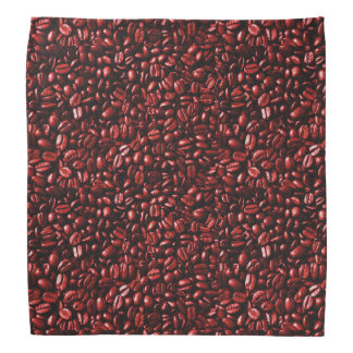 Red Hot Coffee Beans Bandana
