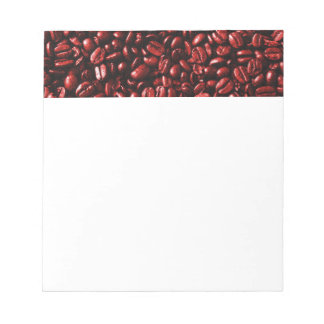 Red Hot Coffee Beans Notepad