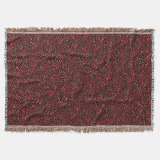 Red Hot Coffee Beans Throw Blanket