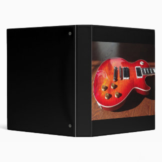 Red Hot Electric Guitar Binder