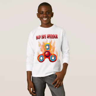 RED HOT FIDGET SPINNER T-Shirt