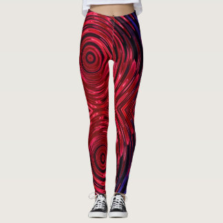 Red Hot Flare Leggings