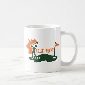 RED HOT Golfer Mugs