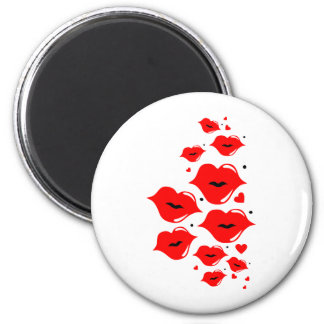Red Hot Lips Magnet
