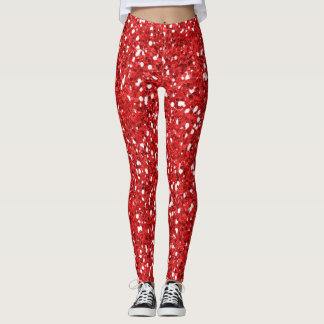 RED HOT MAMA  LADIES LEGGINGS