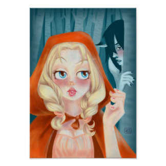 Red Hot Riding Hood Poster