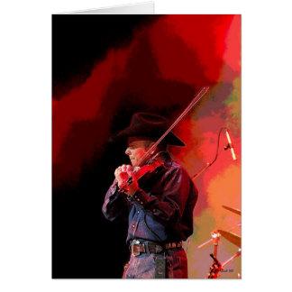 Red Hot Smokin' Fiddler Card