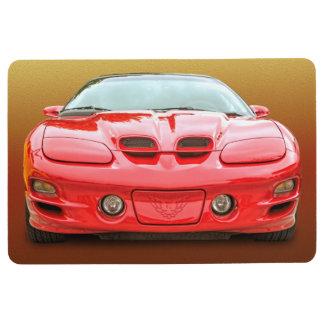 RED HOT SPORTS CAR FLOOR MAT
