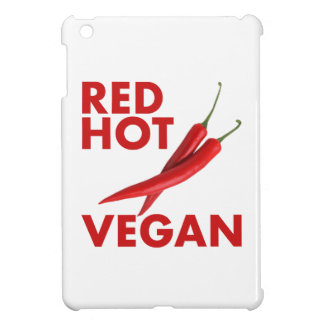 RED HOT VEGAN iPad MINI COVERS
