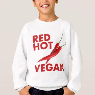 RED HOT VEGAN SWEATSHIRT