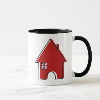 Red House customizable Real Estate Agent mug