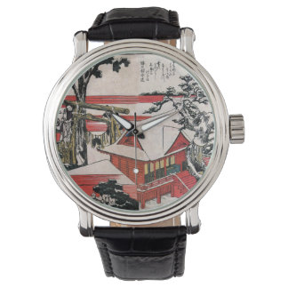 Red Houses Wristwatch