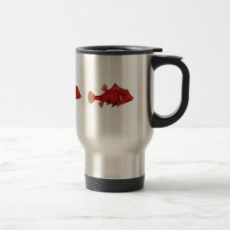 Red Humpback Turretfish Travel Mug