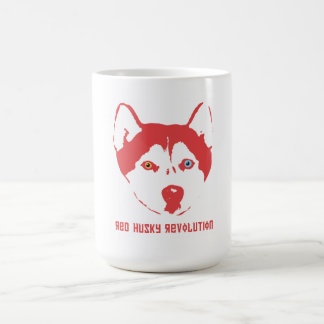 Red Husky Revolution Mug