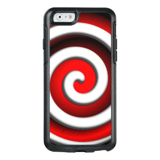Red Hypnotic Spiral OtterBox iPhone 6/6s Case