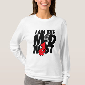 Red I Am the Midwest T-Shirt